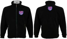 Embroidered Fleece Jacket Workwear your logo/your text