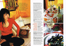 PUBLICITE ADVERTISING 2001 HELENA NOGUERRA  coté cuisine fine ( 3 pages)