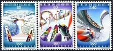 1993 LIECHTENSTEIN N°1017/1019** JEUX OLYMPIQUES / WINTER OLYMPICS