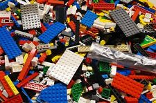 500+ CLEAN Lego Pieces FROM HUGE LOT w/ MINIFIGURE WHEELS BASEPLATES *washed*