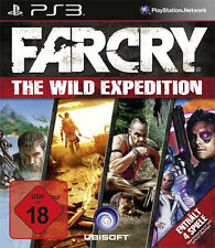 Sony PS3 Playstation 3 Spiel * Far Cry Wild Expeditions 1+2+3 + alle Addons *NEU