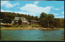 OAKLAND MD Point View Inn & Motel Vintage Postcard Old Deep Creek Lake Maryland