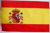 Super Spain Spanish Espana Fabric Bunting 36ft / 11.0m 40 Flags