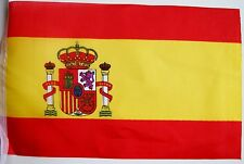 Super Spain Spanish Espana Fabric Bunting 36ft / 11.0m 40 Flags