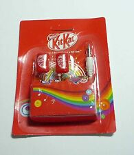 KIT KAT Limited Edition STEREO HEADPHONES Malaysia Nestle NEW in Pack Rainbow 13