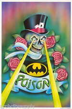 POSTER :MUSIC: POISON - SKULL WITH TOPHAT - FREE SHIPPING !  #551 RAP6 A