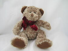 "Russ Berrie Small Chips Bear Bears Lt Brn 9 1/2"" NEW"