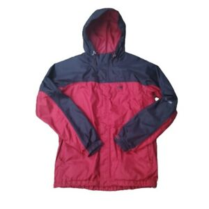 Mens Helly Hansen Red Black Hooded Jacket Size S Small