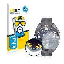 2x Cover Folie für Tissot T-Touch Connect Solar Edge Screen Display Schutz