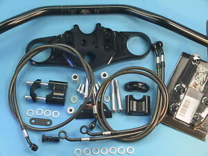 Abm Superbike Handlebar Kit Honda CBR 1000 RR (SC57) 04-07 Black