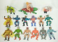 He Man Mattel 1981 Action Figure Lot of 15 - Skeletor Masters Of The Universe