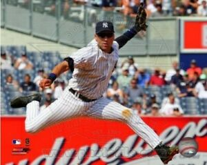 "Derek Jeter New York Yankees MLB Game Action Photo (8"" x 10"")"