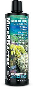 Brightwell MicroBacter7 33.8oz Filter Bacteria Start Aquarium