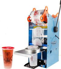 WY-802F 9.5cm Manual Tall-cup Bubble Tea Sealing machine Fruit Juice Sealer 220V