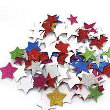 Self Adhesive Foam Stickers Star Heart Flower Maple Leaves Assorted WA