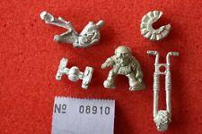 Warhammer 40k Squats Biker Bike Rogue Trader Era Complete Metal Figure OOP GW B1