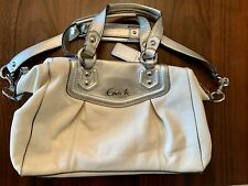 Coach F19247 Leather Ashley Shoulder Bag Hand Bag Satchel Pre-owned