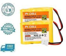 New 2pc 300mAh 3.6V Ni-cd Battery For VTech BT-17333 BT-27333 KX-G3610 KX-T3620