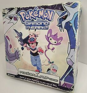 Pokemon Diamond and Pearl Poke Ball flip game 2007 Pressman
