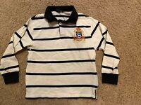 Polo Ralph Lauren Rugby Shirt Youth Size S Boys 8-10 Small Embroidered Crest VG