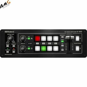 Roland V-1HD Portable 4 x HDMI Input Switcher 12-Channel Digital Audio Mixer