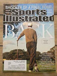April 8, 2013 Tiger Woods Golf Regional Sports Illustrated Magazine