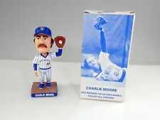 2004 Milwaukee Brewers Charlie Moore Pin Striped Bobblehead In Box