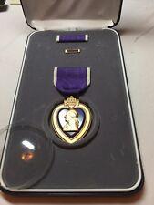 Purple Heart WW11 Pin Badge For Military Merit