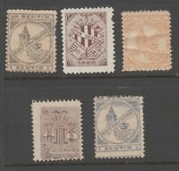 Spain OLD Local or Cinderella Revenue stamp mz51 - note could have a tiny fault