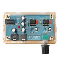 DA47 Single Power Supply HIFI Portable Headphone HIFI Amplifier PCB AMP DIY Kit