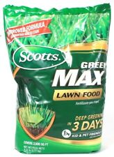 1 Scotts Green Max Lawn Food Green In 3 Days Covers 2500 SQ FT 8 LB 33 OZ