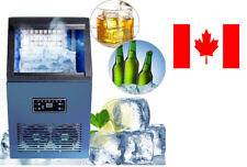 50KG Auto Commercial Ice Make Cube Making Machine Stainless Steel 230W 110lbs
