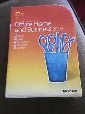 Microsoft Office Home and Business 2010  DVD PC Version - GENUINE