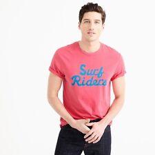 Ebbets Field Flannels for J. Crew Surf Riders Men's Baseball T-Shirt USA NEW XL