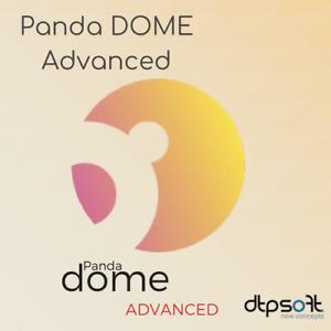 Panda Dome Advanced 2021 3 Geräte / 2 Jahre 3 PC Internet Security 2020 DE EU