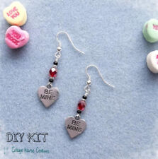 Be Mine ~ DIY Valentine's Earring Jewelry Making Step by Step Instruction Kit