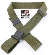 Garand Web Sling for M1 OD Green Cotton 2-Point USGI SPEC & US Made New