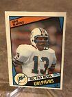 1984 Topps Dan Marino Miami Dolphins #123  Football Card