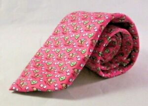 Vineyard Vines Kentucky Derby Tie Win Place Show New With Tag Pink Coral