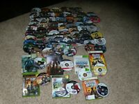 Lot of approx. 70 Xbox Games - Untested See body of listing for titles