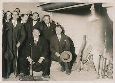 ESPAGNE c. 1930 - Édouard Herriot Étudiants à Alcalá - PRM 218