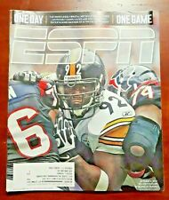 ESPN The Magazine (November 28, 2011) NFL PITTSBURGH STEELERS VS HOUSTON TEXANS
