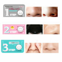 1x Beauty Face Care Pig-Nose Blackhead Comedo Clear Remover Set 3 Step Clear Kit