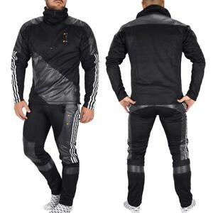 Adidas X Oyster 75HR Men's Tracksuit Jogging Suit Jacket + Trousers Chile Black