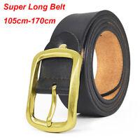 """Big /& Tall Top quality Designer belt Mens Belt 100/% Cow Leather belt size 30-60/"""""""