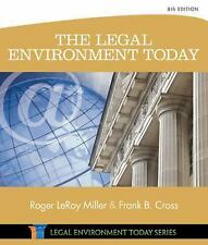 The Legal Environment Today 8th Edition