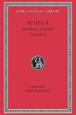 Seneca: Moral Essays, Volume III. De Beneficiis. (Loeb Classical Library No. 310