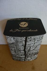 ancienne boite bonbons la pie qui chante metal old box tin french