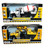 Construction / Cement Truck Semi With Backhoe RC Full Function Radio Control