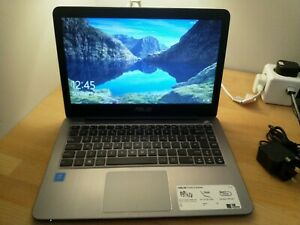 """Asus VivoBook L403NA Laptop Quad Core Intel Pentium 4GB RAM 14"""" FHD Windows 10"""